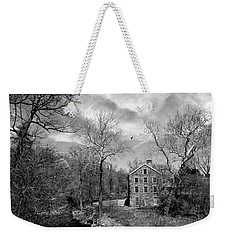 Weekender Tote Bag featuring the photograph Snuff by Diana Angstadt
