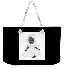 Weekender Tote Bag featuring the digital art So Clean And White by Reinvintaged