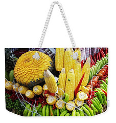 Weekender Tote Bag featuring the photograph So, Elephants Eat Red Hot Chile by Mr Photojimsf
