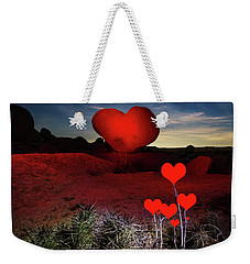 Weekender Tote Bag featuring the photograph So Far Away by Tassanee Angiolillo