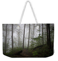 Weekender Tote Bag featuring the photograph So Foggy by Ben Shields