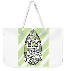 So Hoppy Weekender Tote Bag