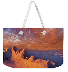 Weekender Tote Bag featuring the photograph So It Begins by Phil Koch