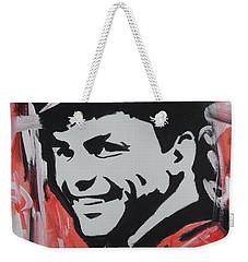 So Sinatra Weekender Tote Bag