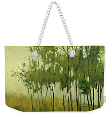 So Tall Tree Forest Landscape Painting Weekender Tote Bag