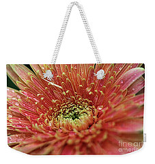 Weekender Tote Bag featuring the photograph Soaking Wet by Yumi Johnson