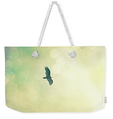 Weekender Tote Bag featuring the photograph Soar by Melanie Alexandra Price