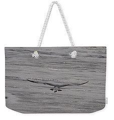 Weekender Tote Bag featuring the photograph Soaring Gull by  Newwwman