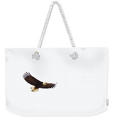 Weekender Tote Bag featuring the photograph Soaring High 0881 by Michael Peychich
