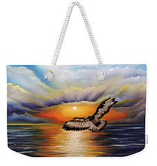 Soaring High Weekender Tote Bag by Dianna Lewis