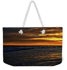Soaring In The Sunset Weekender Tote Bag