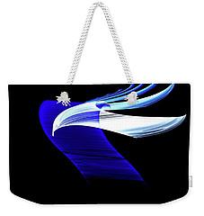 Weekender Tote Bag featuring the digital art Soaring by Lea Wiggins