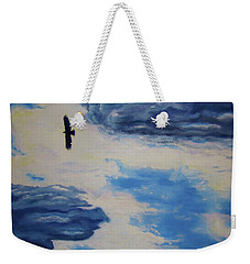 Soaring   Weekender Tote Bag by Lisa Rose Musselwhite