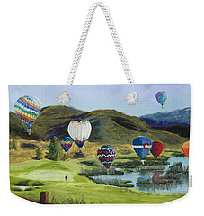Soaring Over Colorado Weekender Tote Bag