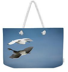 Soaring Over Still Waters Weekender Tote Bag