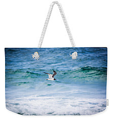 Soaring Over The Ocean Weekender Tote Bag by Shelby Young