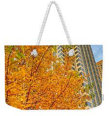 Soaring Perspective In Beantown  Weekender Tote Bag by Patricia E Sundik