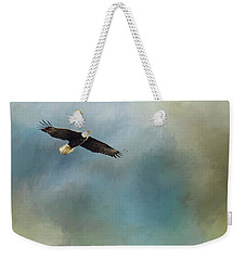 Weekender Tote Bag featuring the photograph Soaring by Rebecca Cozart