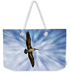 Soaring With Ease At Puerto Lopez Weekender Tote Bag