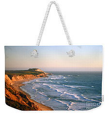 Weekender Tote Bag featuring the photograph Socal Sunset Ocean Front by Clayton Bruster