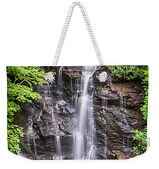 Weekender Tote Bag featuring the photograph Socco Falls by Stephen Stookey
