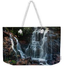 Weekender Tote Bag featuring the photograph Soco Waterfalls  by Chris Flees