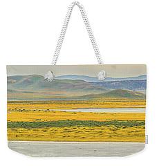Soda Lake To Caliente Range Weekender Tote Bag