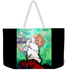 Soda Pop Child Weekender Tote Bag