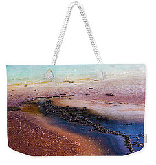 Weekender Tote Bag featuring the photograph Soda Water by Jeffrey Jensen