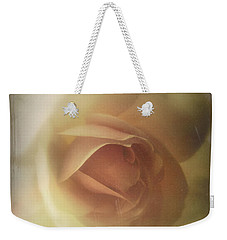 Soft And Peachy Weekender Tote Bag by Lynn Bolt