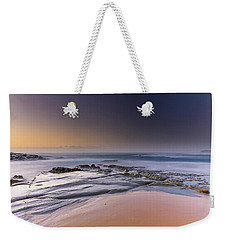 Soft And Rocky Sunrise Seascape Weekender Tote Bag