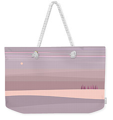 Soft Colored Landscape Weekender Tote Bag