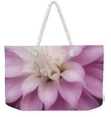 Soft Dahlia  Weekender Tote Bag