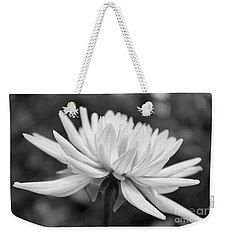 Soft Details Black And White Weekender Tote Bag