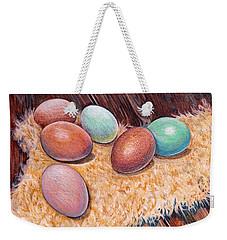 Soft Eggs Weekender Tote Bag