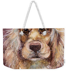 Soft Eyes Weekender Tote Bag by Judith Levins