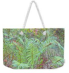 Soft Ferns Weekender Tote Bag