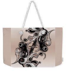 Soft Impression Of Dysplastic Departure  Weekender Tote Bag