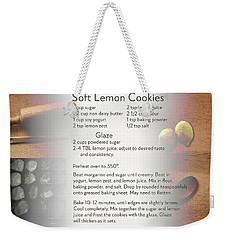 Soft Lemon Cookie Recipe Weekender Tote Bag