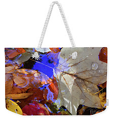 Soft Light Leaves Weekender Tote Bag by Todd Breitling