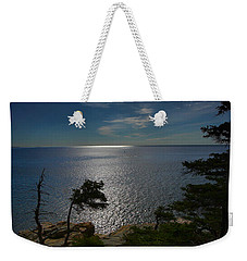 Soft Light On Otter Point Weekender Tote Bag