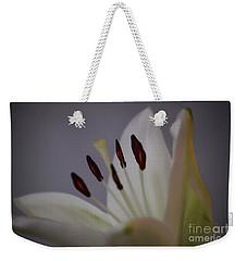 Soft Lily Weekender Tote Bag by Roberta Byram
