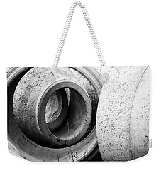 Soft Lines, Hard Surface Weekender Tote Bag
