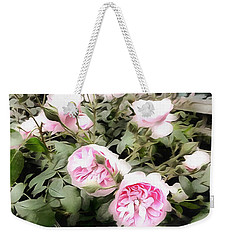 Soft Pink Bliss Weekender Tote Bag