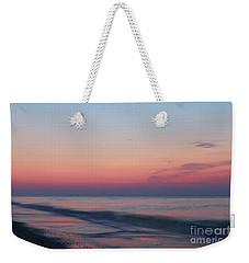 Soft Pink Sunrise Weekender Tote Bag