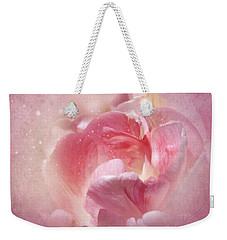 Soft Pink Tulips Weekender Tote Bag