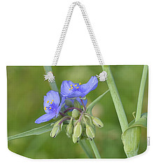 Soft Purple Spider Weekender Tote Bag