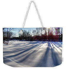 Soft Shadows Weekender Tote Bag