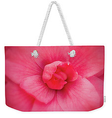 Soft Touch Camellia  Weekender Tote Bag