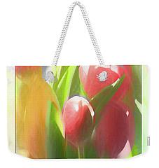 Soft Tulips Weekender Tote Bag